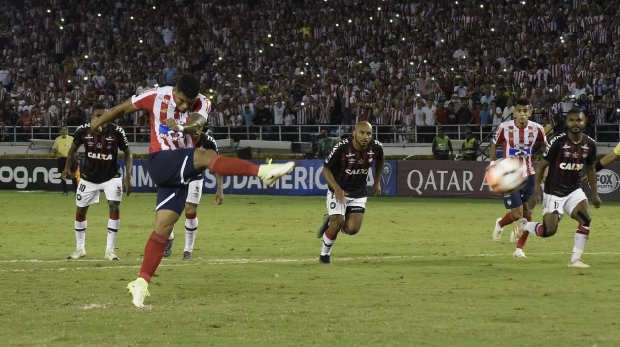 Rafael Pérez erró un penalti.
