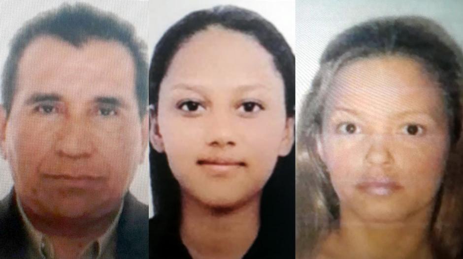 Luis Francisco Benitez, Martha Lucía Erazo y Yeimys Isabel Botero, alias 'La Mona'.