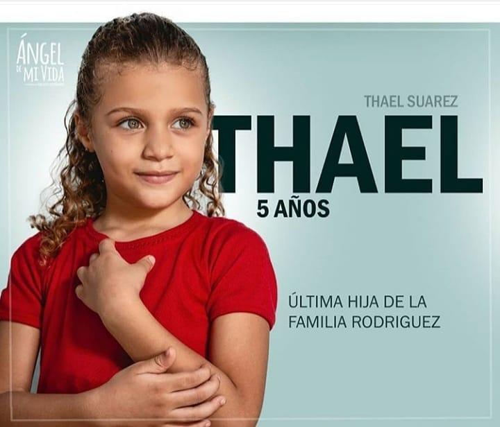 Thael interpreta a una niña de 5 años
