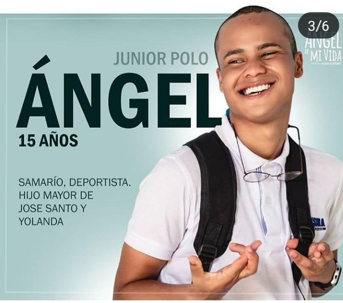 Junior Polo, es Ángel