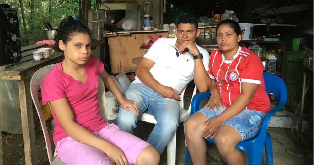 La familia Sánchez Maldonado está aferrada a Dios y tiene fe que devolverán a Alit David.