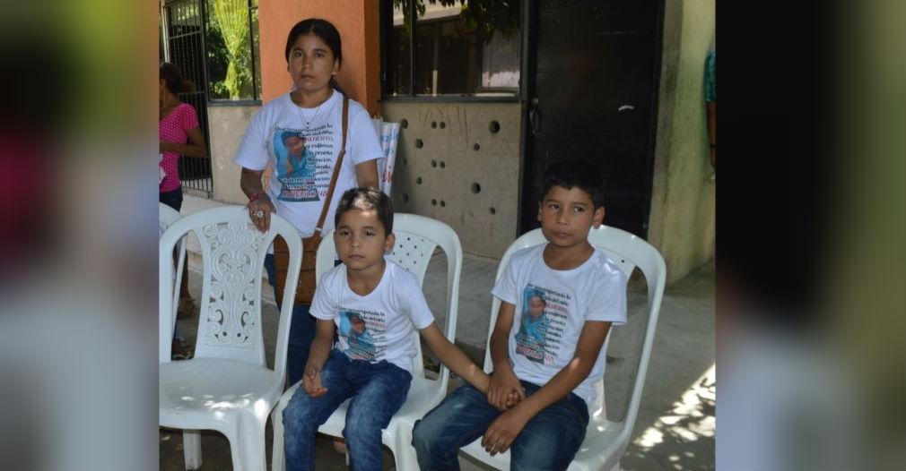Yuliana Sanguino y hermanos de 'Albertico' Cardona.