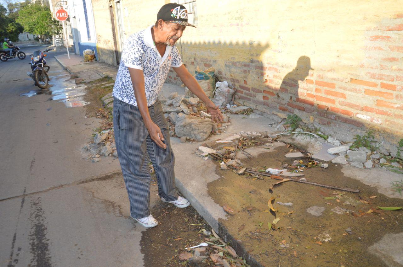 José Rafael Ensuncho, edil de la comunidad 4, barrio El Cundí.