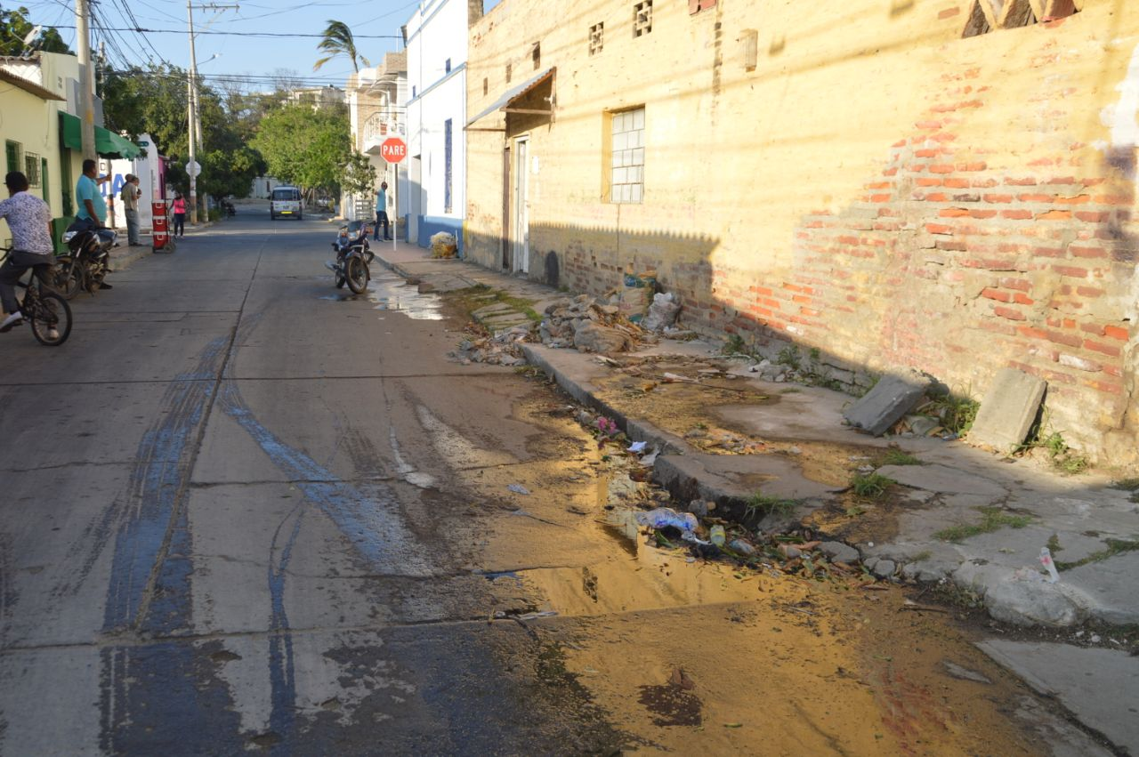 Problemática de aguas negras en El Cundí.