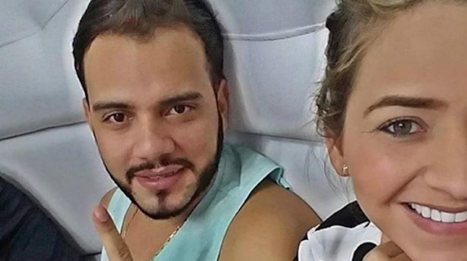 El nene Carrascal y Anny Sarmiento.