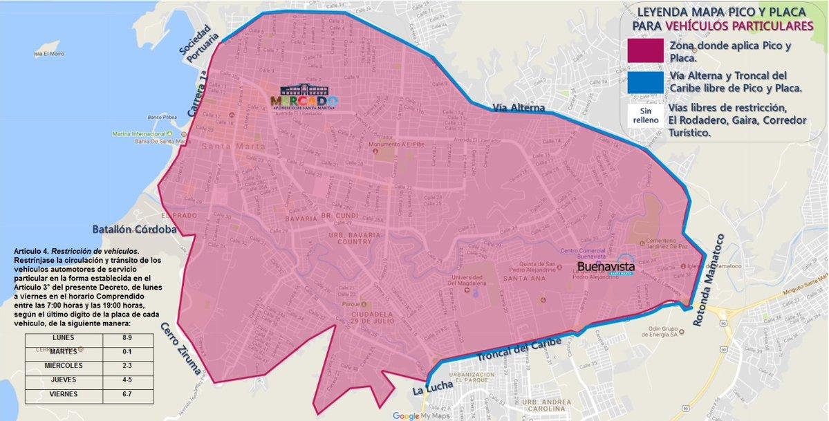 Esta es la zona donde se aplicará a medida.