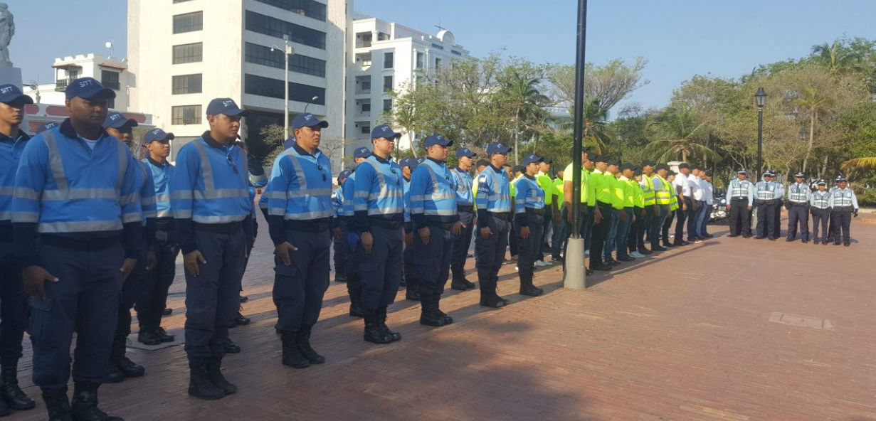 Este será el equipo de hombres con lo que contará la Secretaria de Movilidad para regular el tráfico.