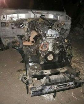 La camioneta en la que se movilizaba fue encontrada desvalijada en Maicao.