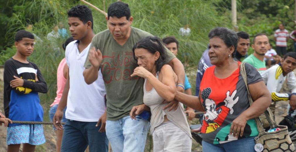 La madre de Rebeca Guerra Gallo no podía creer la tragedia.