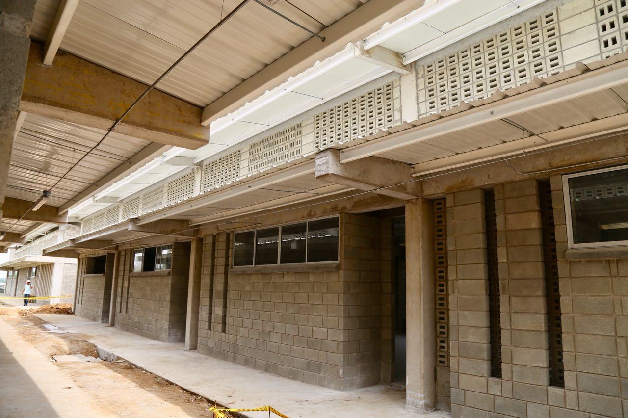 Dos colegios del departamento se vieron beneficiados por la gestión de la Gobernadora.
