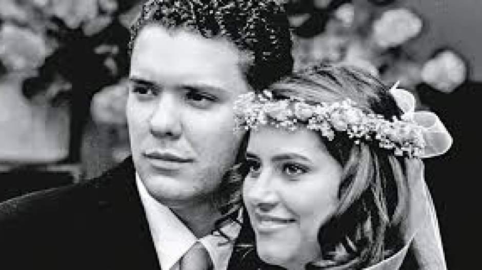 Duque y su esposa.