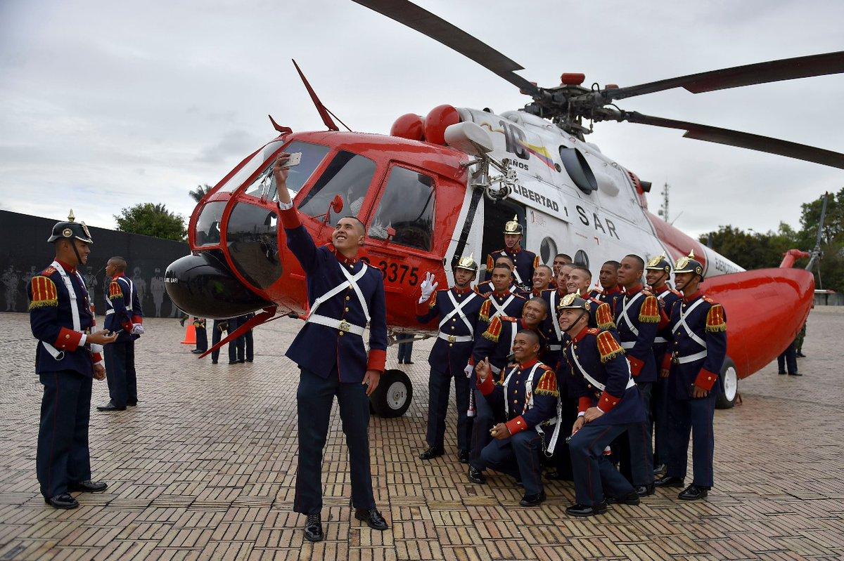 El helicóptero en el que se hizo la Operación Jaque, está siendo exhibido en Bogotá.