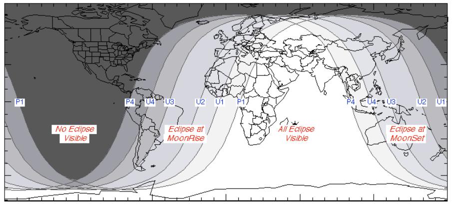 El próximo eclipse será en enero de 2019.