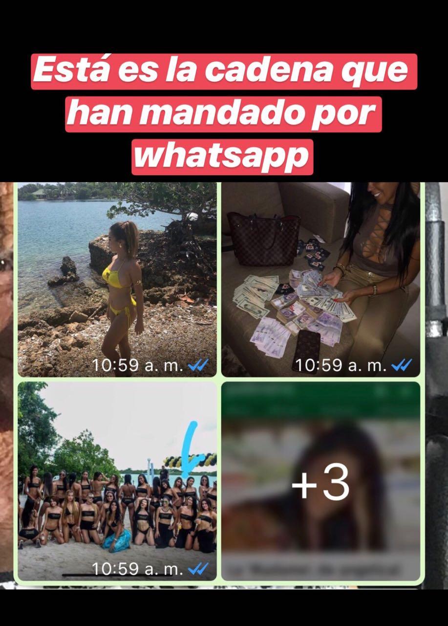 Estas son las fotografías que están circulando por las redes sociales.