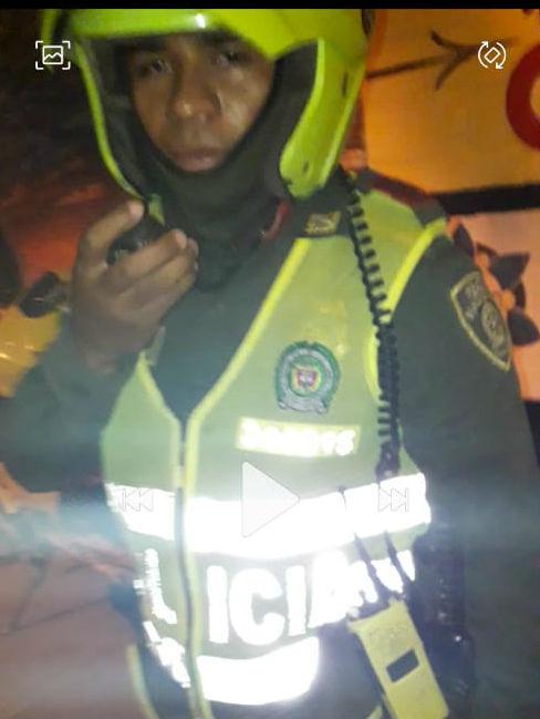 Este policía estaría involucrado en la golpiza.