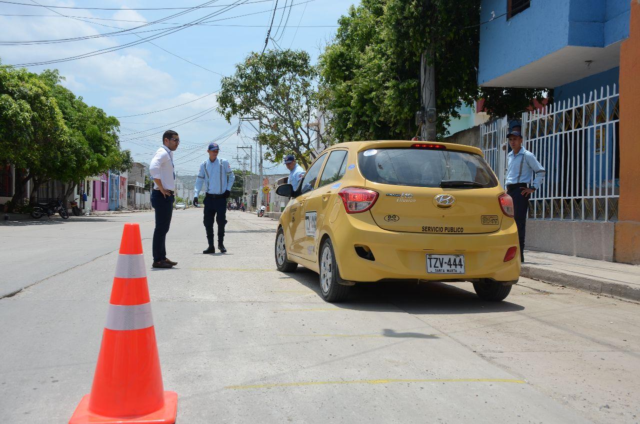 A la fecha van más de 100 taxis, de los 3.853 que hay en el Distrito.