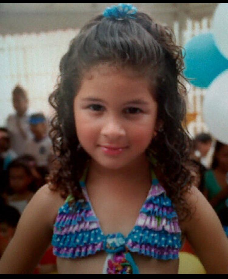 Salua Cabarcas - foto publicada con consentimiento de la madre de la menor.