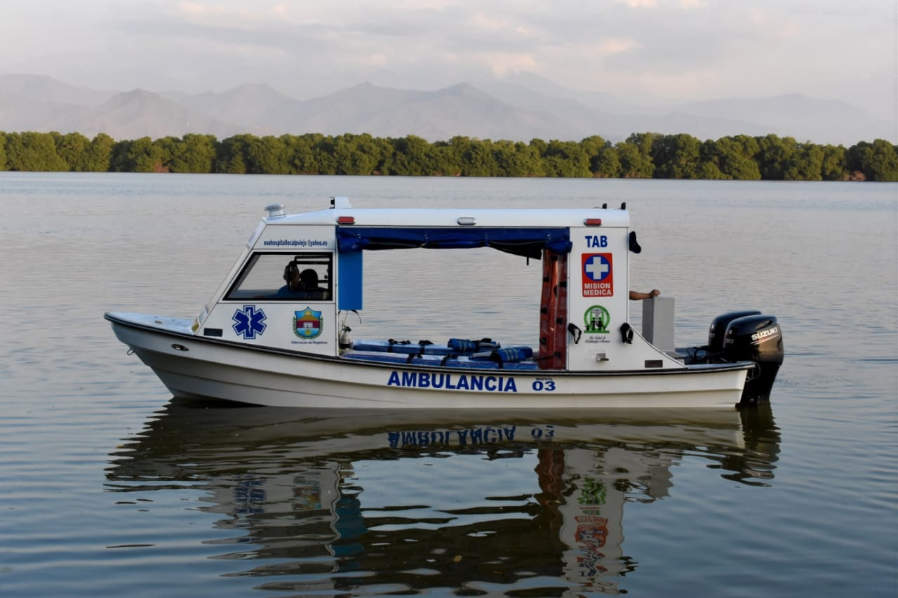 La embarcación ayudará a reducir el tiempo de transporte versus otras embarcaciones informales con menor poder en el motor.