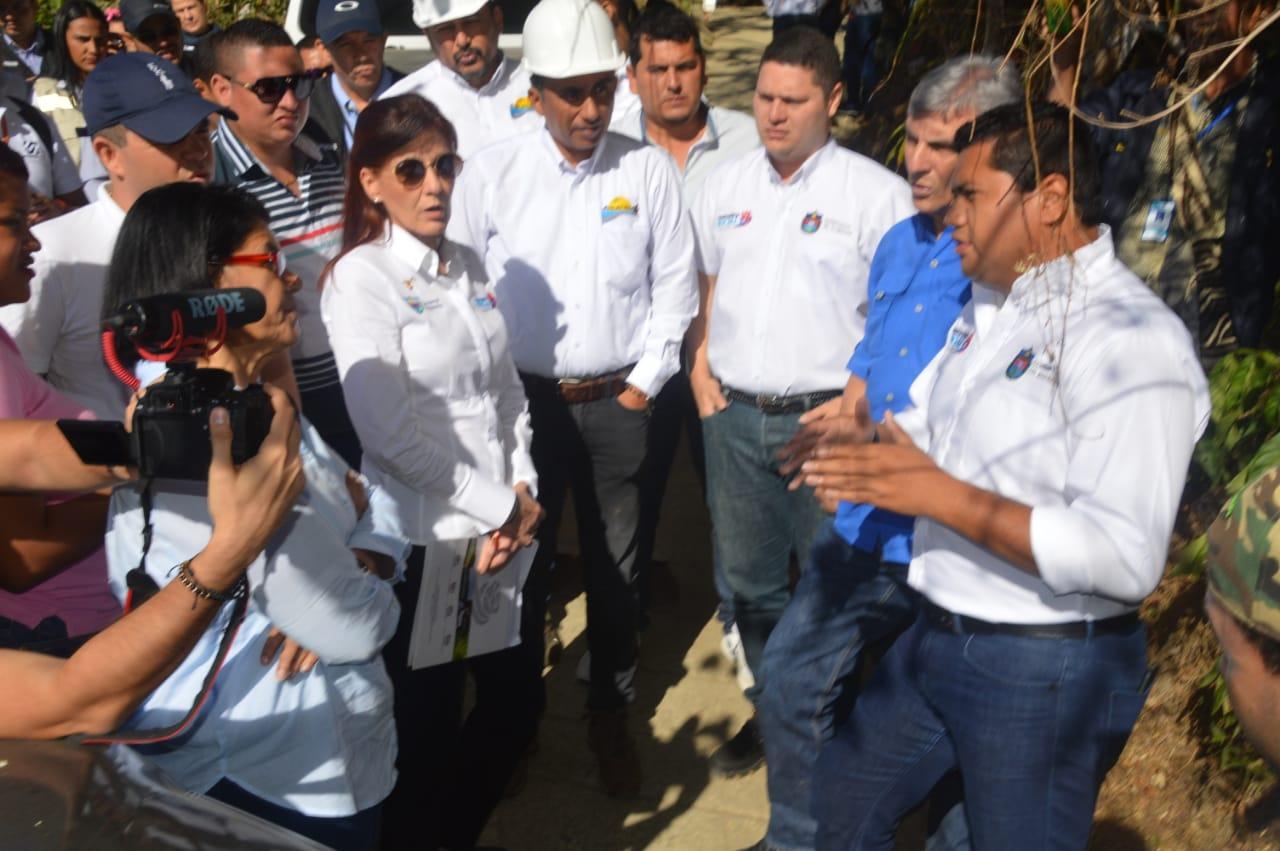El Gerente de Proyectos señaló que también mejorarán alcantarillados en el desarrollo del proyecto.
