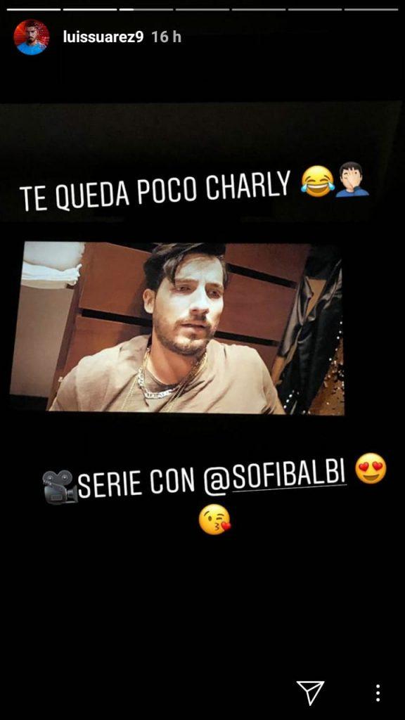 Historia de Instagram Luis Suárez