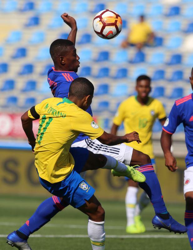 Colombia suma un punto en su ilusión de clasificar al Mundial de la categoría.