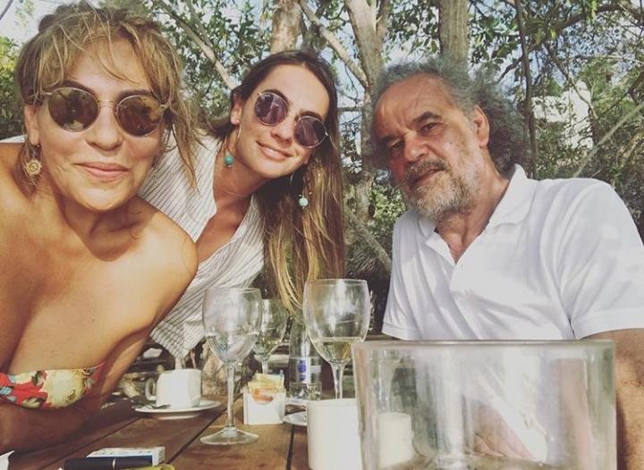 María Stella Ramírez, Valentina Jaramillo y Andrés Jaramillo