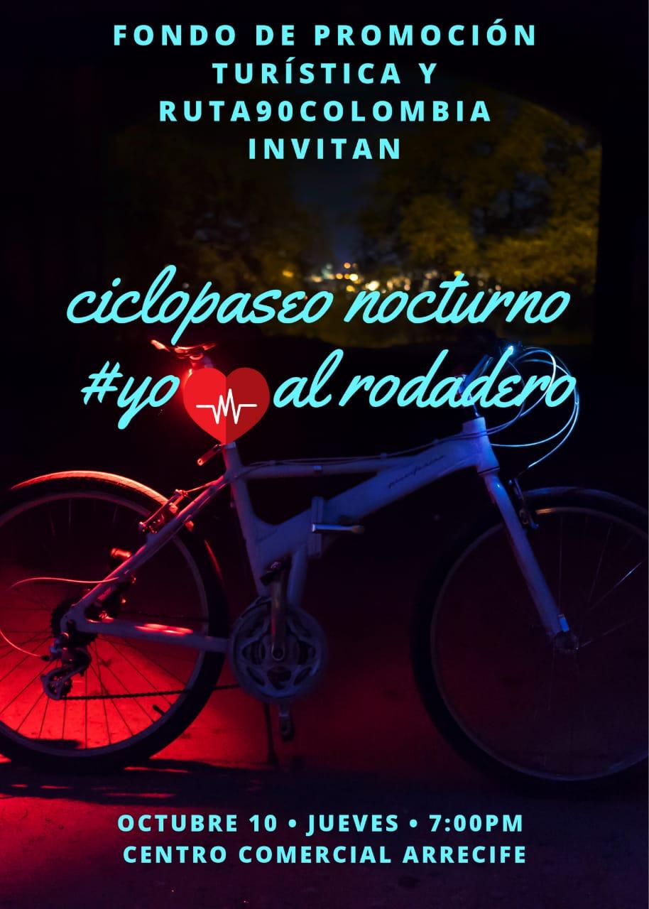 Publicidad del Ciclopaseo.