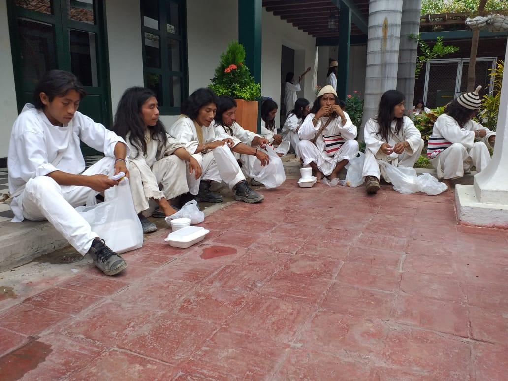Los Kogui del Magdalena están pasando necesidades y piden el respaldo del Gobierno Nacional.