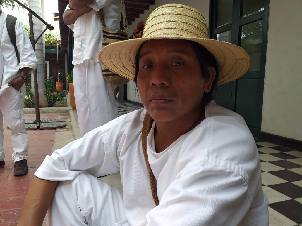 Gobernador Kogui del Magdalena, Atanasio Moscote Gil.