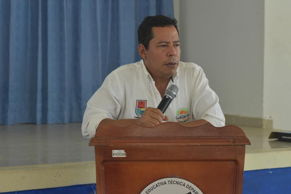 Alcalde Víctor Rangel.