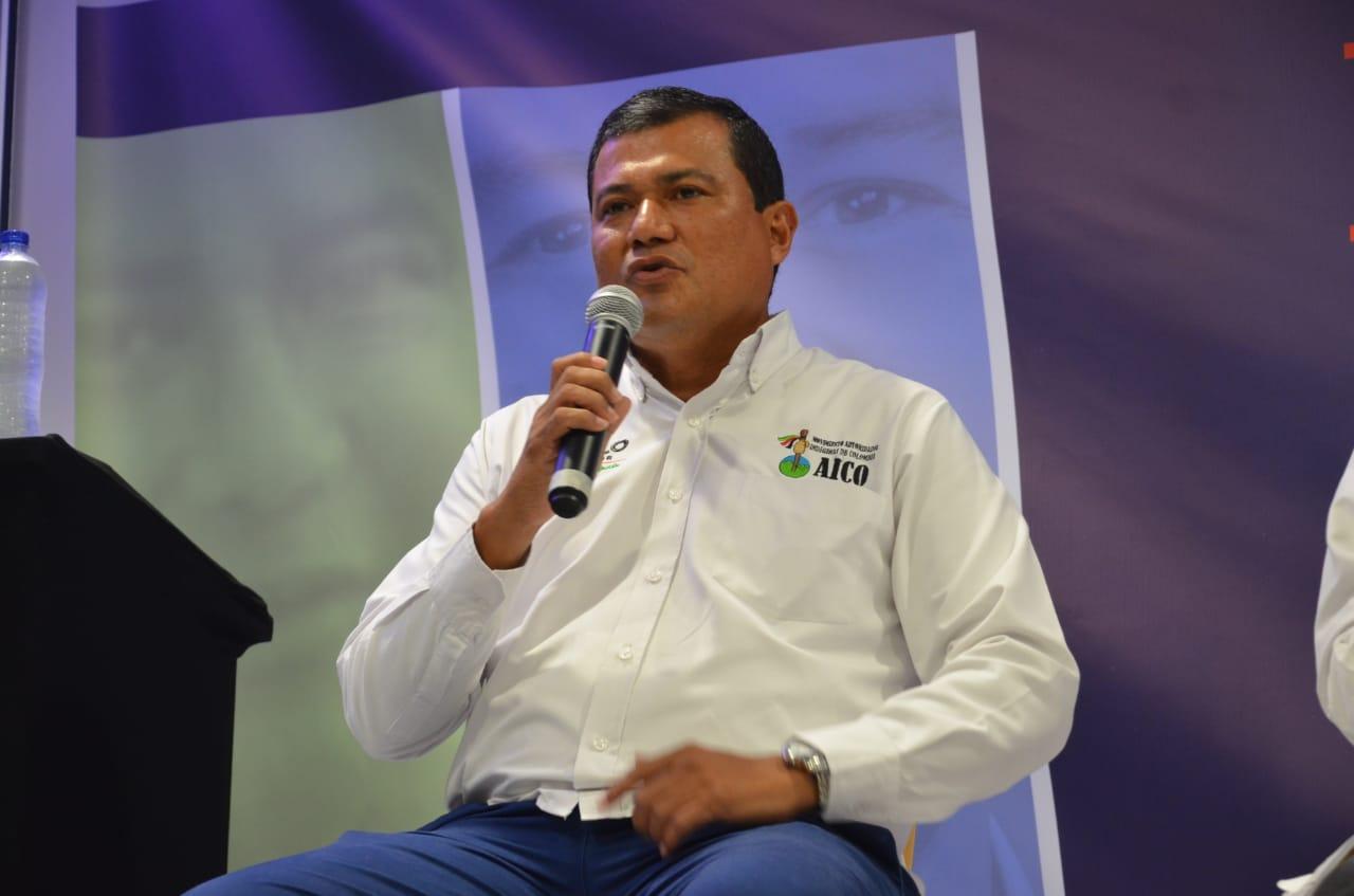 Róbinson Morelo, el candidato del partido Aico.