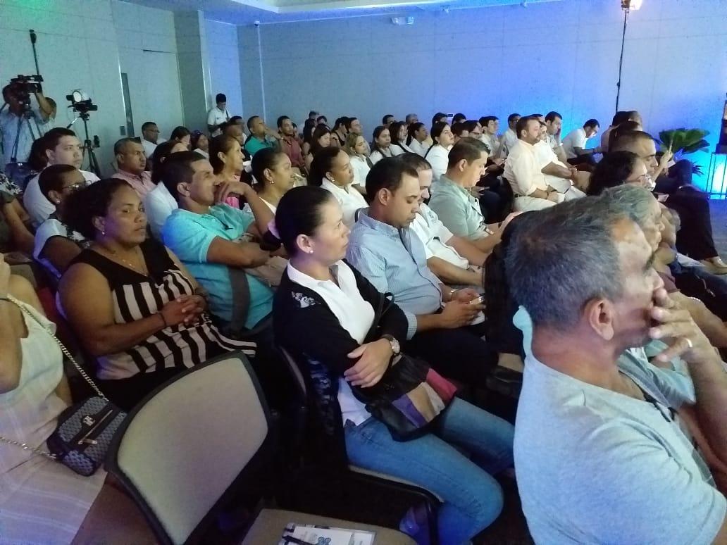 Este jueves, en un reconocido hotel de Santa Marta, se llevó a cabo la rendición de cuentas por parte de Aguas del Magdalena