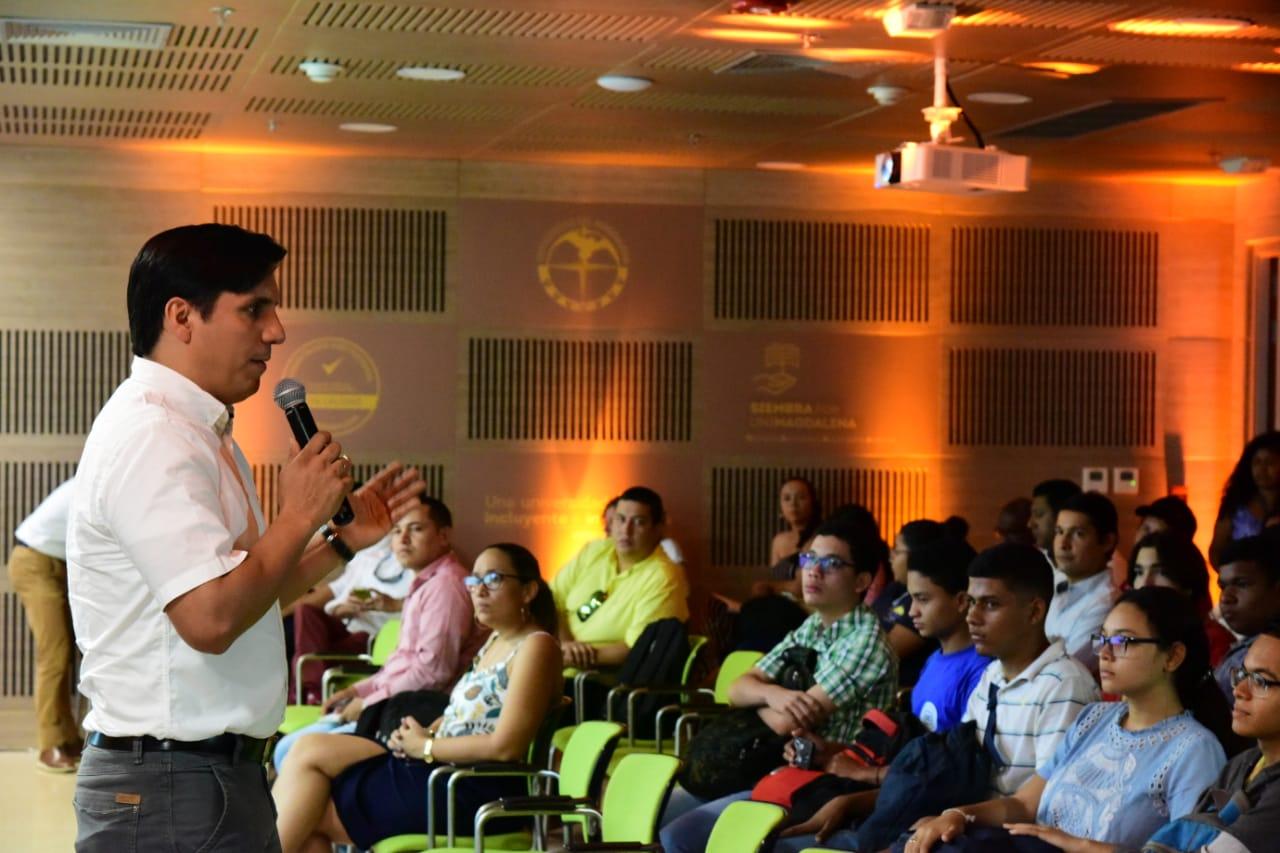 La Universidad del Magdalena desarrolló la tercera versión del Simposio Spin Off 2019, enfocado en 'Emprendimiento innovador en las universidades del Caribe colombiano'.