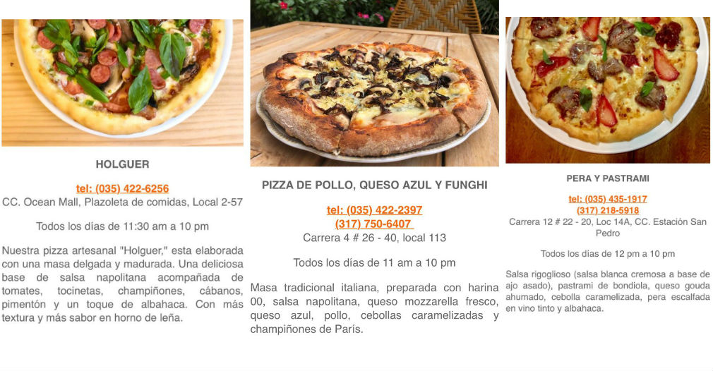 Concursantes del Pizza Master en la ciudad de Santa Marta.