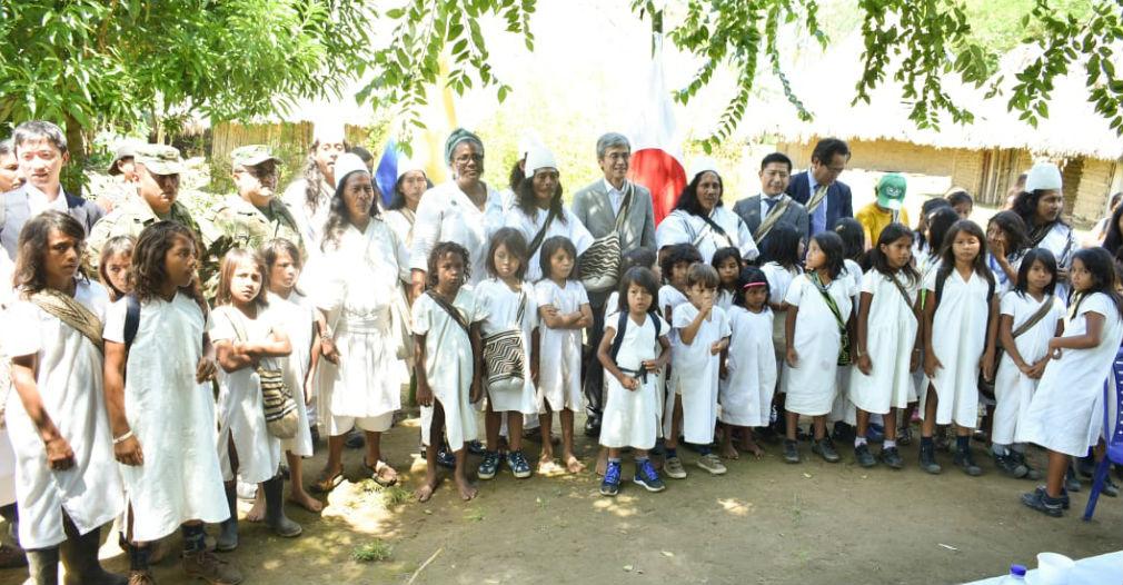Visita a la comunidad Arhuaca.