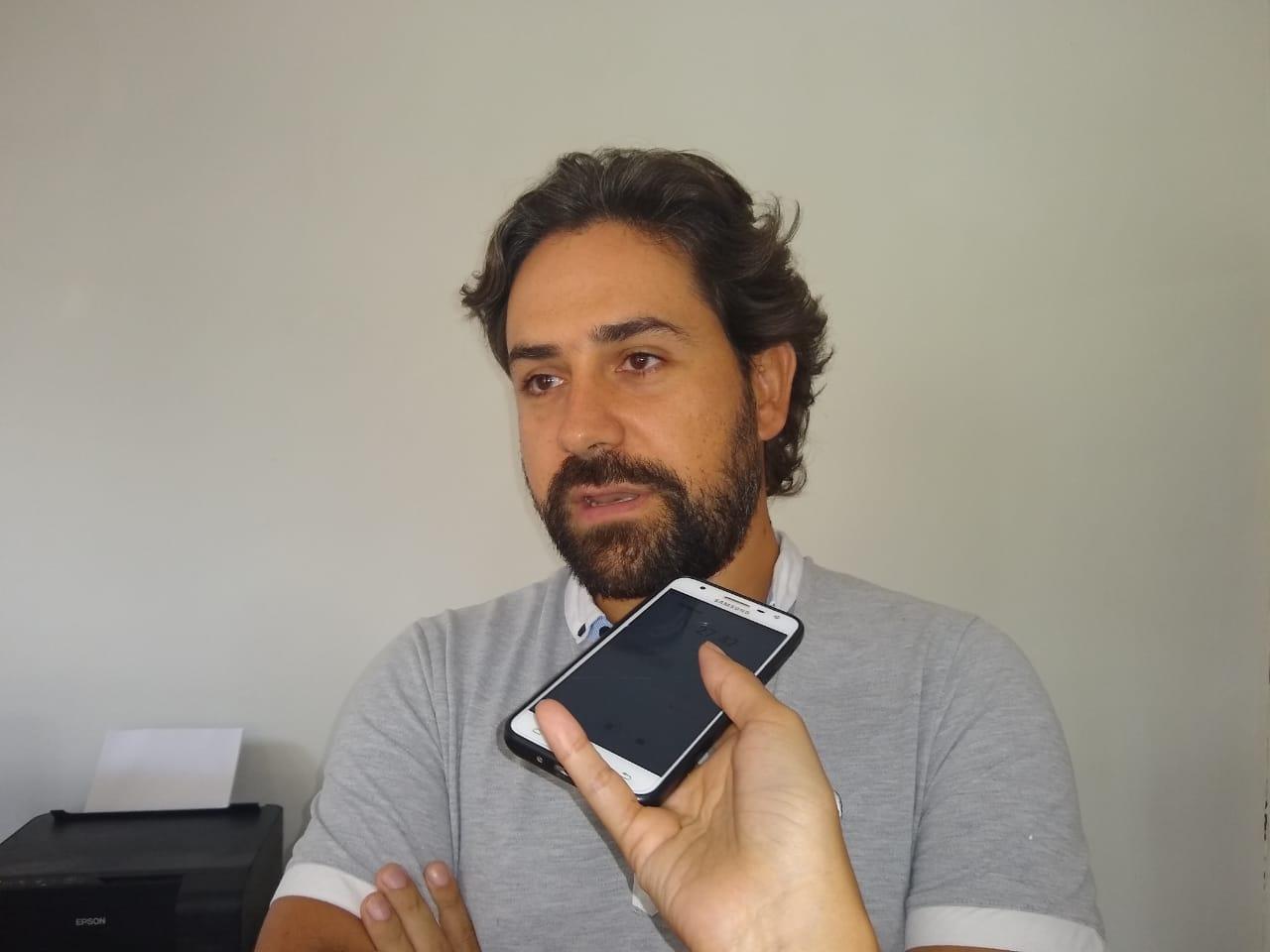 Rafael Salazar, gerente del hotel Bahía Taganga