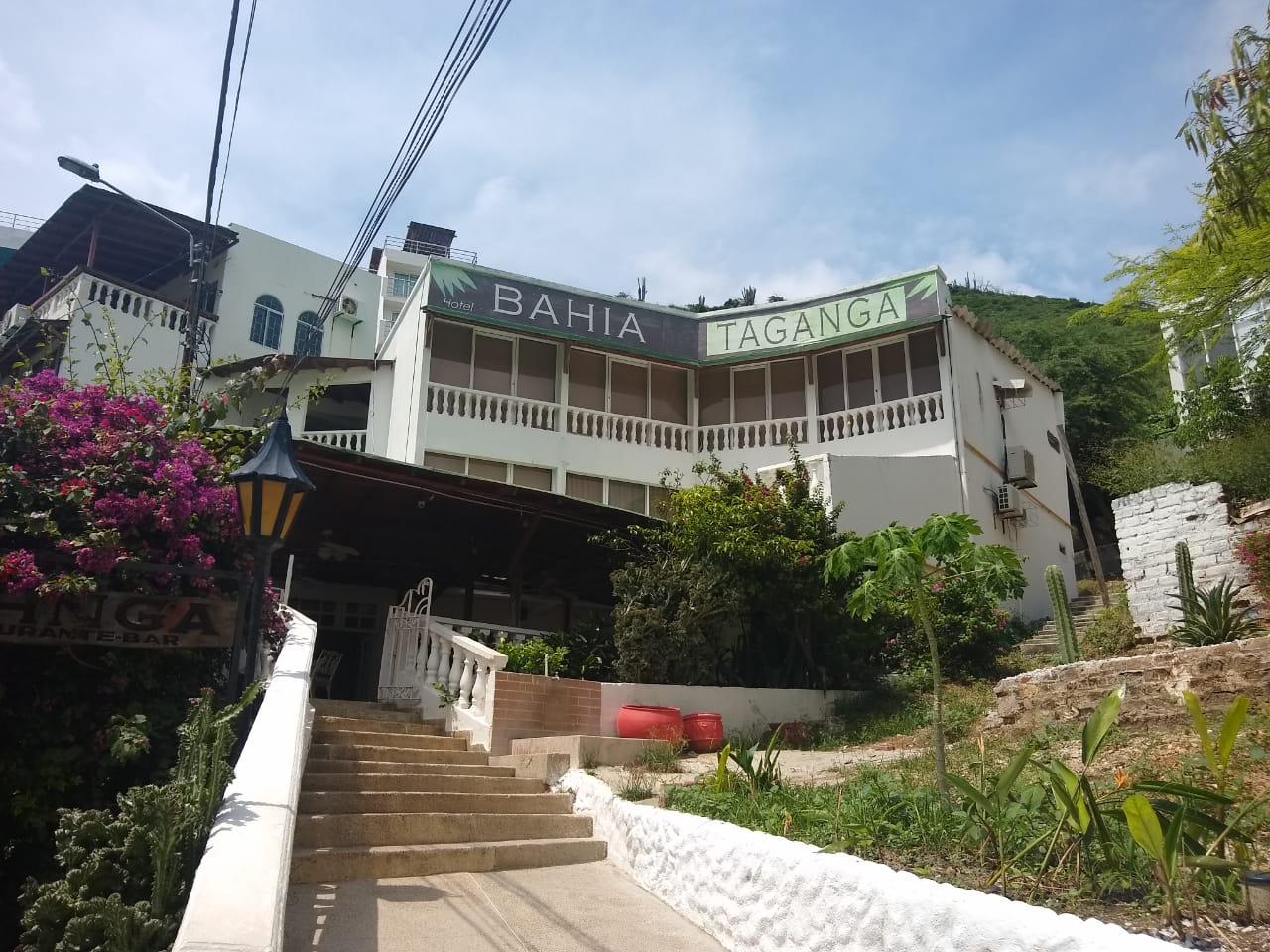 Hotel Bahía Taganga, cercano a donde se encontraba el Jaba Nibue