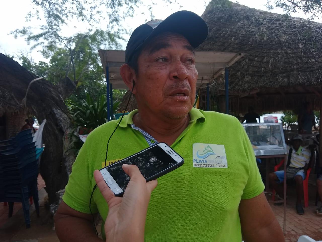 Iván Mattos, pescador taganguero