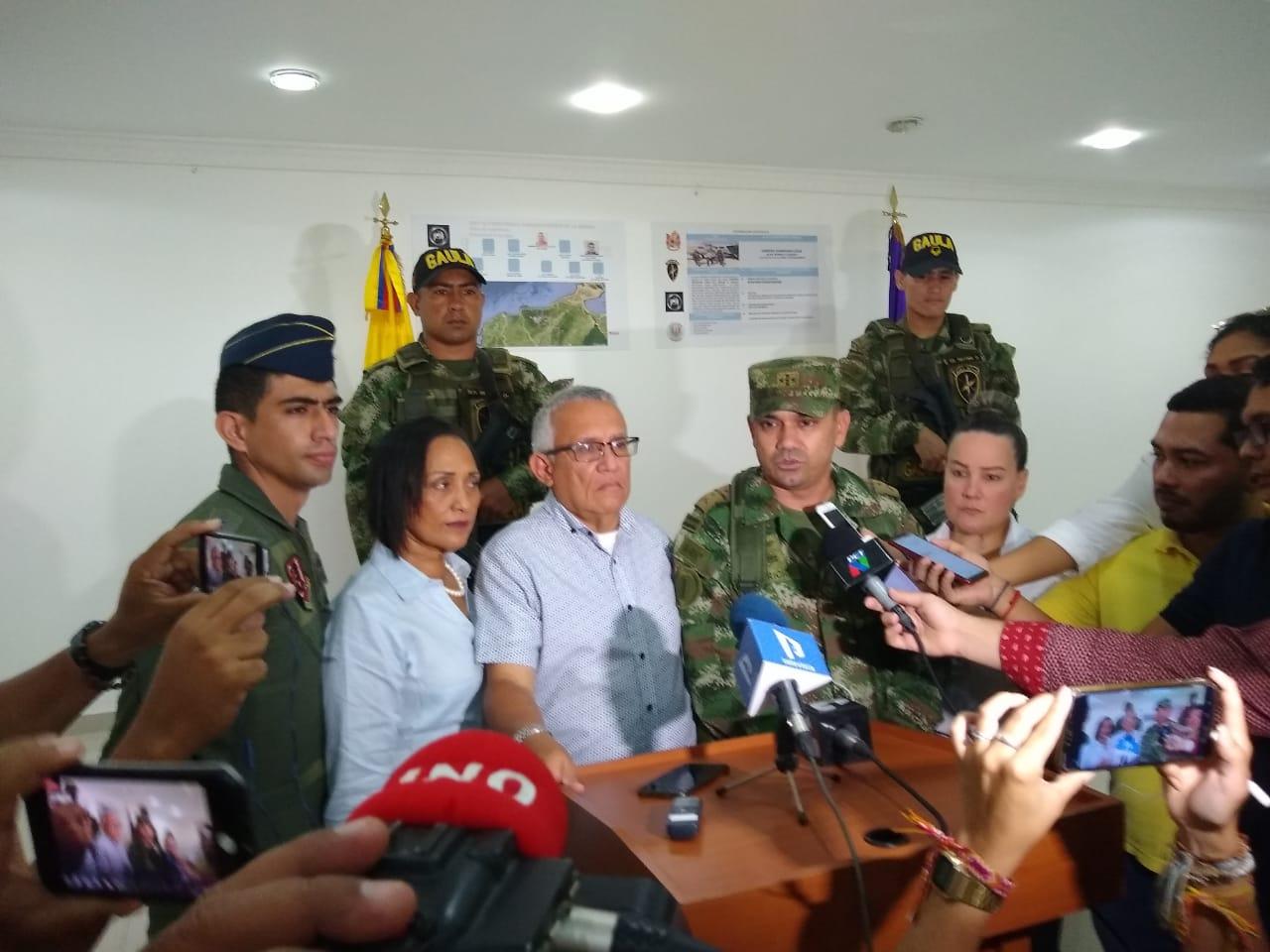 La Fiscalía, con el apoyo del Gaula Militar Magdalena, estableció el paradero de Leandro Jhonatan Lara, alias 'Barbas'.