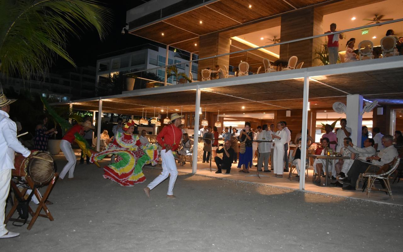 Con una velada en el Hotel Marriott (Playa Dormida), buffet típico de la región, y el grupo de danza Trietnia del municipio de Ciénaga,  se dio inicio a lo que se le denomina el segundo Road Show 2019.
