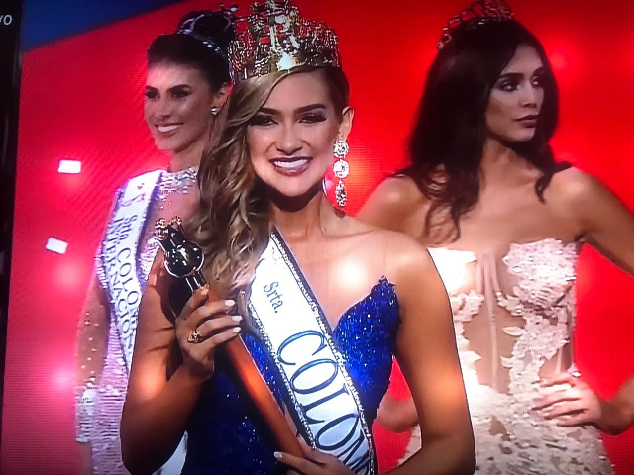 Señorita Colombia 2019-2020