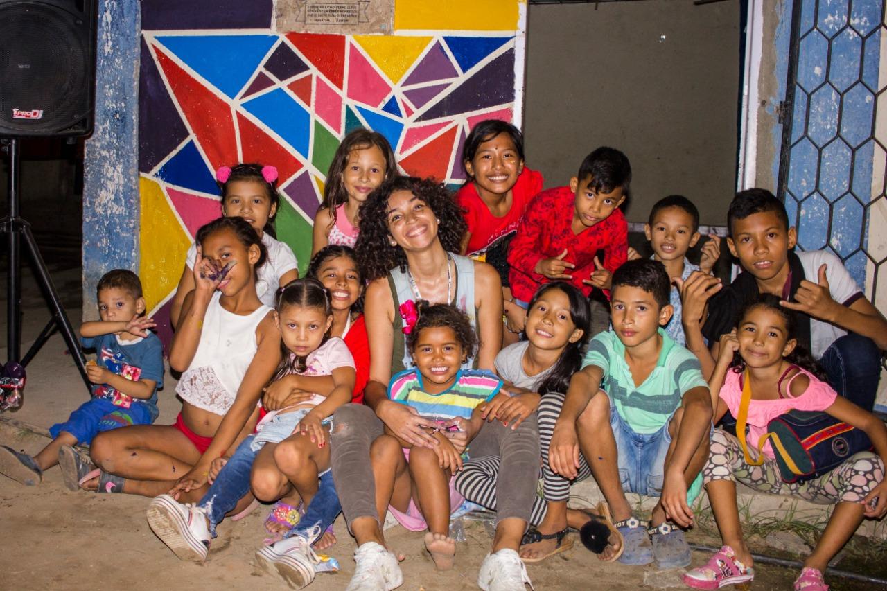 Niños del barrio Galán.