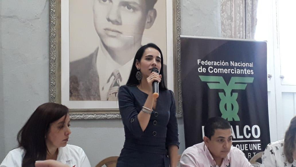 Angélica Silva, directora ejecutiva de Fenalco Santa Marta