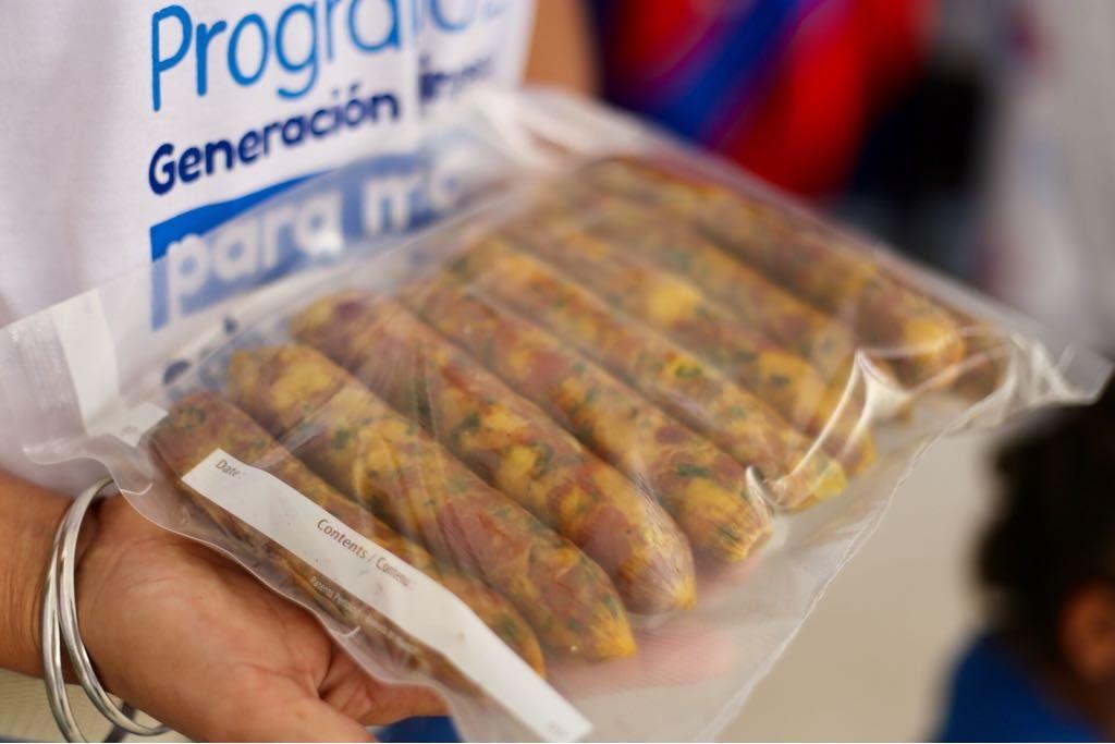 Proyecto productivos de embutidos elaborados por grupo de mujeres en Palmor