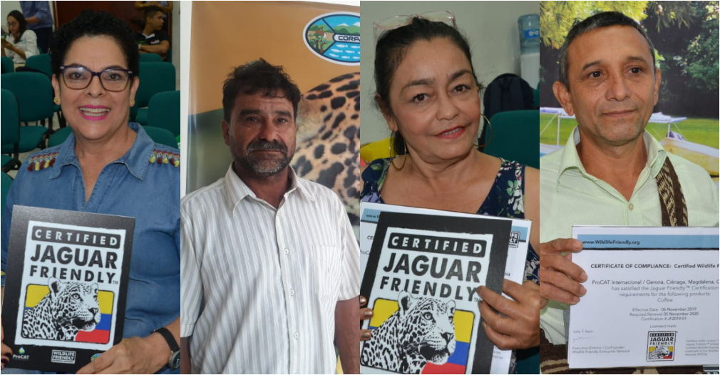Campesinos del Magdalena y la Sierra Nevada reciben certificación por conservar al Jaguar en sus fincas - Seguimiento.co