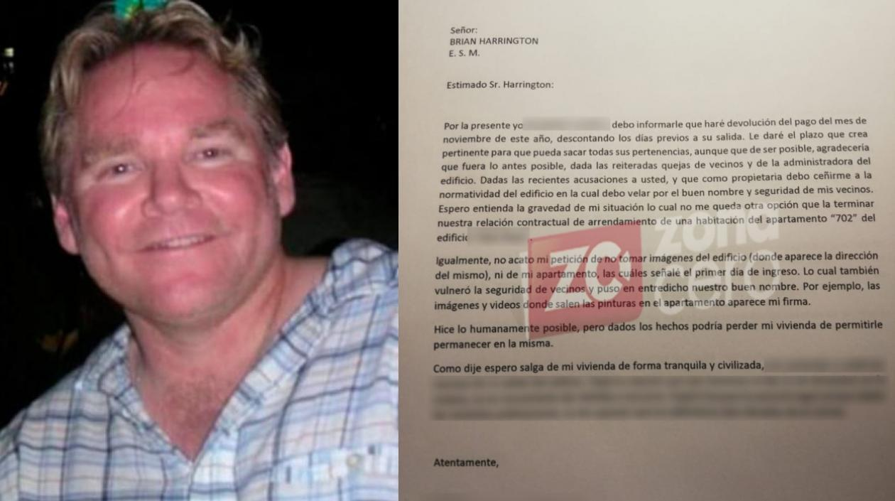 Al gringo protagonista de la 'pela viejo' le pidieron abandonar el apartamento donde vive en Barranquilla - Seguimiento.co