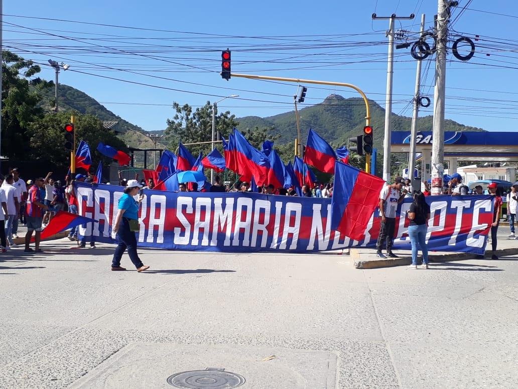 Garra Samaria Norte