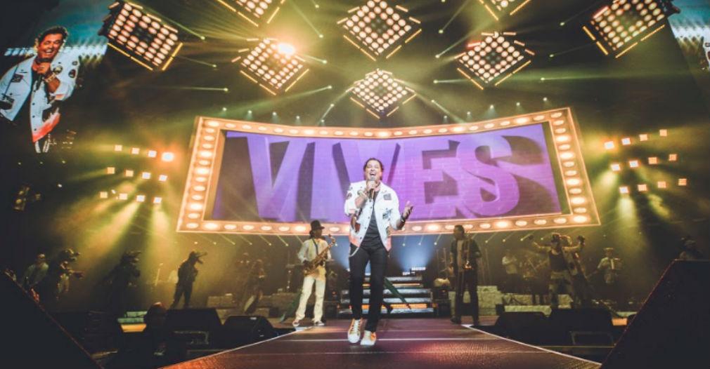 Carlos Vives en concierto.