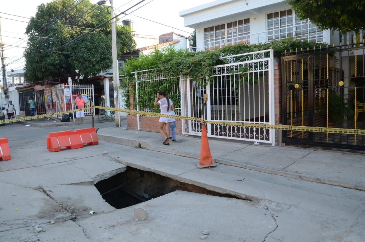 Hueco en Villa Alejandría.