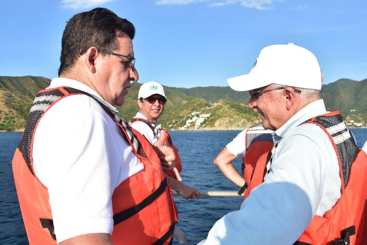 Los delegados de Odesur visitaron algunas playas de la ciudad